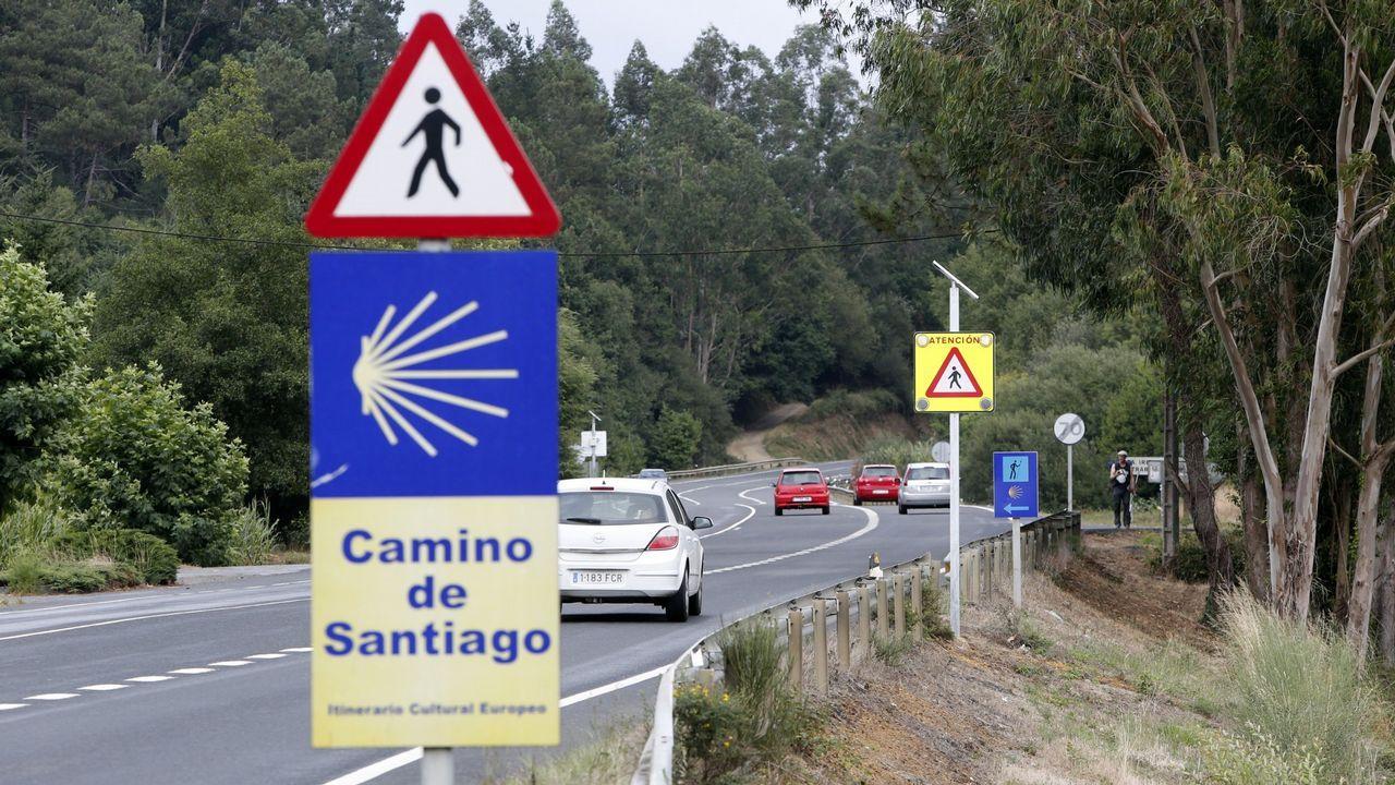 Así fue la movilización de los cazadores gallegos en Santiago