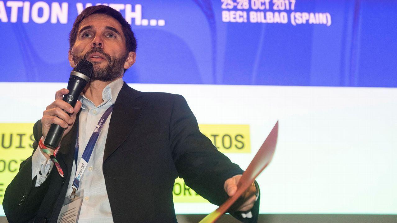 El director general de la SGAE, Luis Felipe Palacios.
