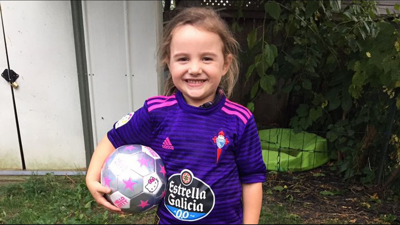 La hija de Tomás también juega al fútbol
