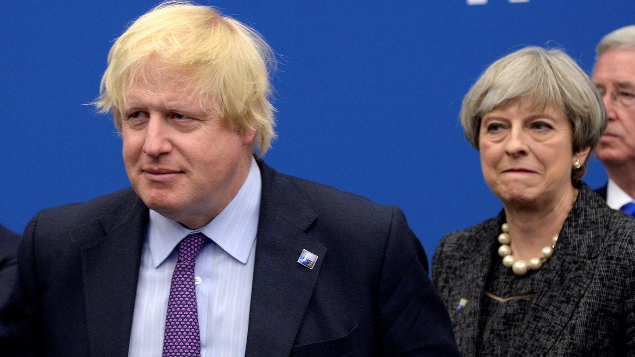 Boris Johnson es el candidato favorito como sustituto de May para ser el jefe de Gobierno británico a finales de julio