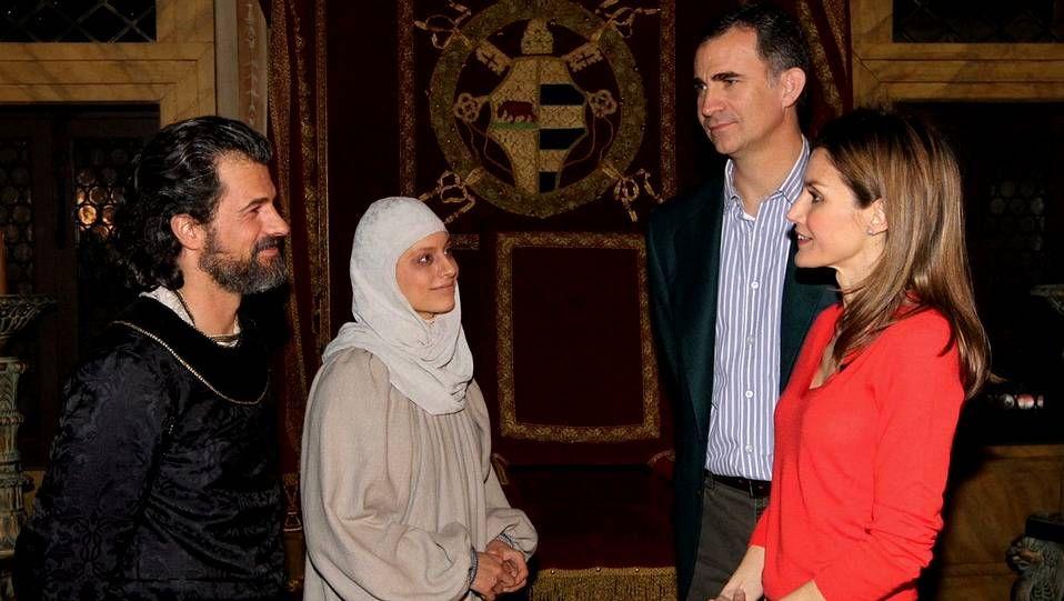 La divertida visita a ARCO de los príncipes.Zuckerberg, en el Mobile World Congress