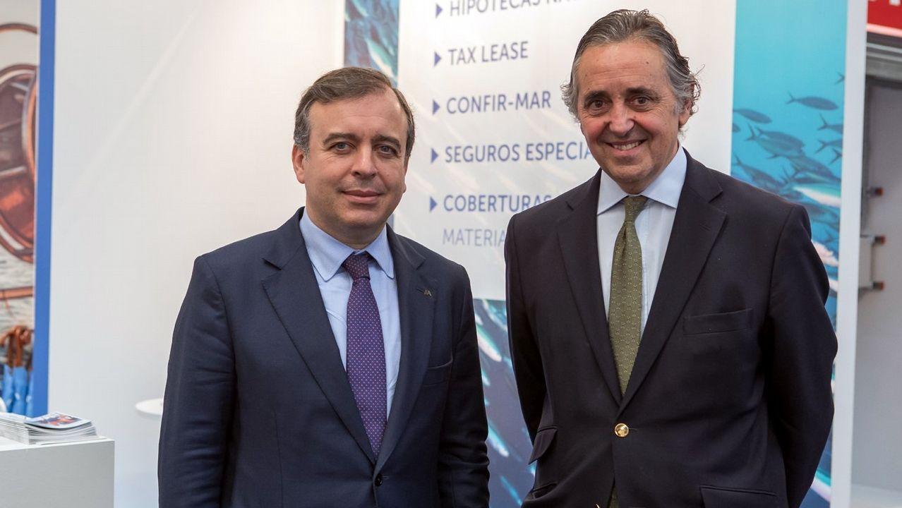 .Botas y González-Robatto, en la jornada inaugural de Navalia