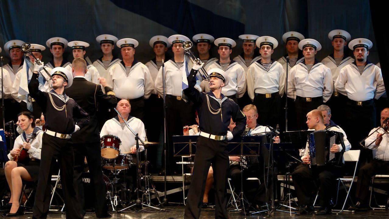 El folclore ruso llega a Santiago.El ministro de Exteriores ruso, Serguei Lavrov