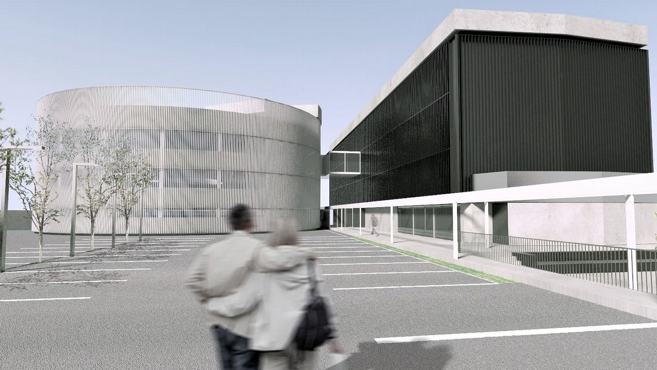Proyecto del Espazo Amizar para la antigua delegación de Sanidade en A Coruña