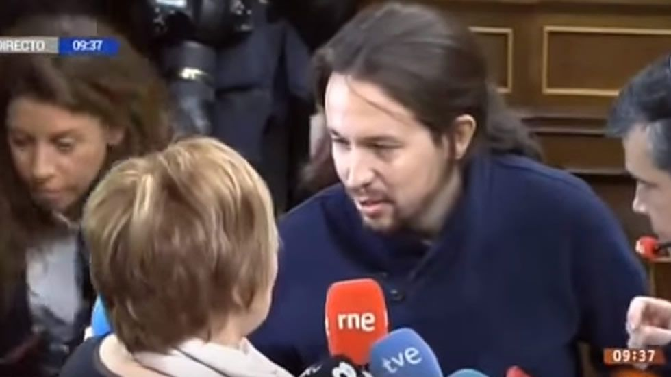 El desencuentro entre Pablo Iglesias y Celia Villalobos
