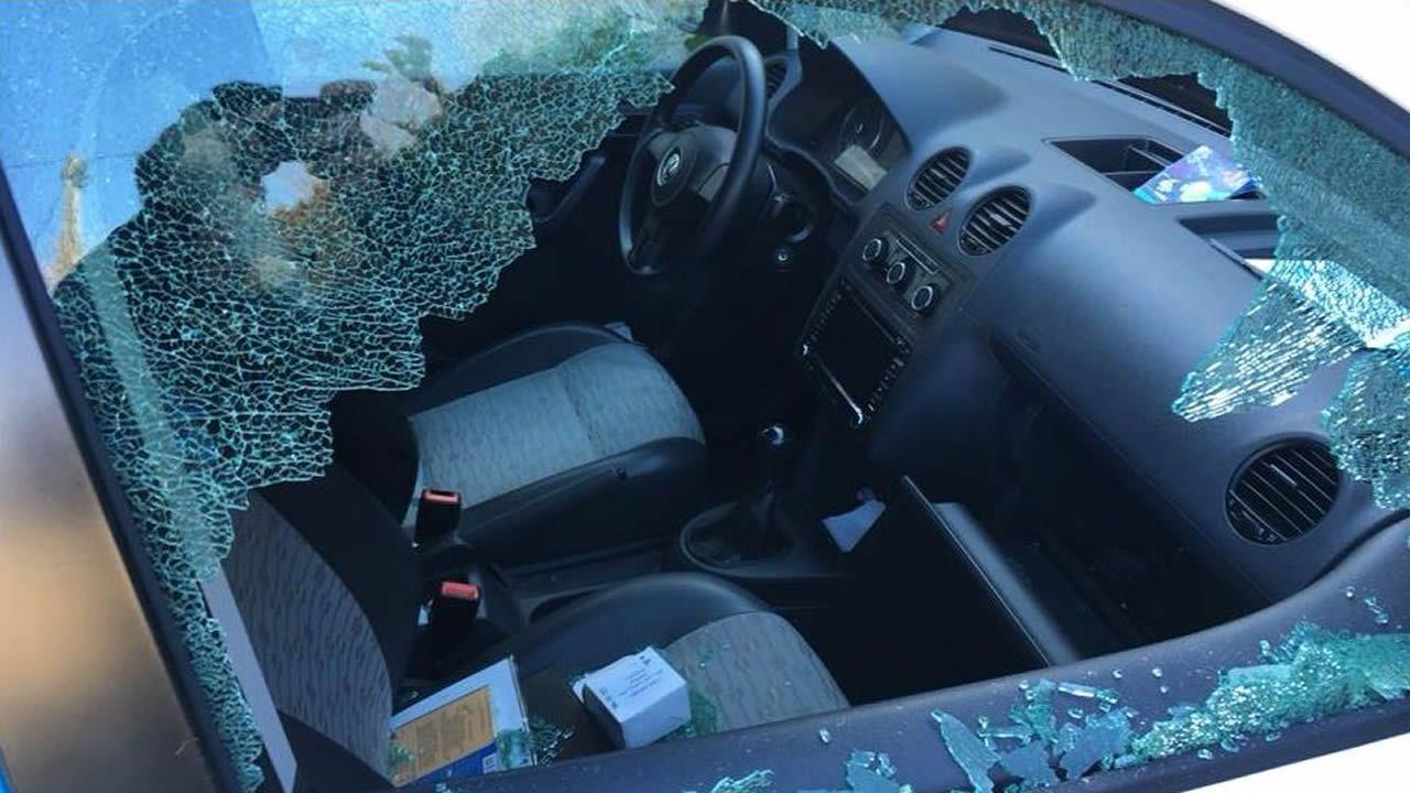La policía investiga una nueva oleada de robos en vehículos.