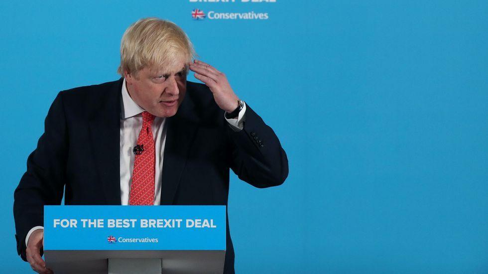 .El responsable de Exteriores británico, Boris Johnson