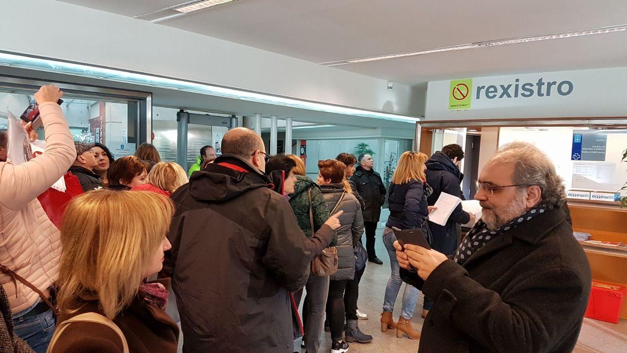 Millet, a la salida de la Audiencia de Barcelona el pasado mes de enero