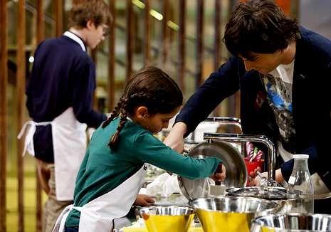 La edición menos rompedora de ARCO.Estas vacaciones los niños serán los jefes de la cocina de La 1.