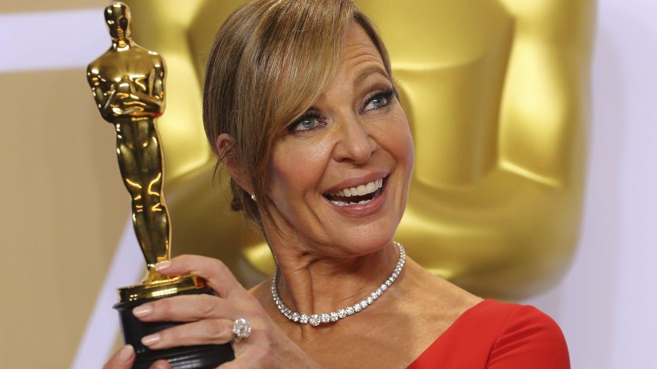 .Allison Janney,  mejor actriz de reparto por «Yo, Tonya»