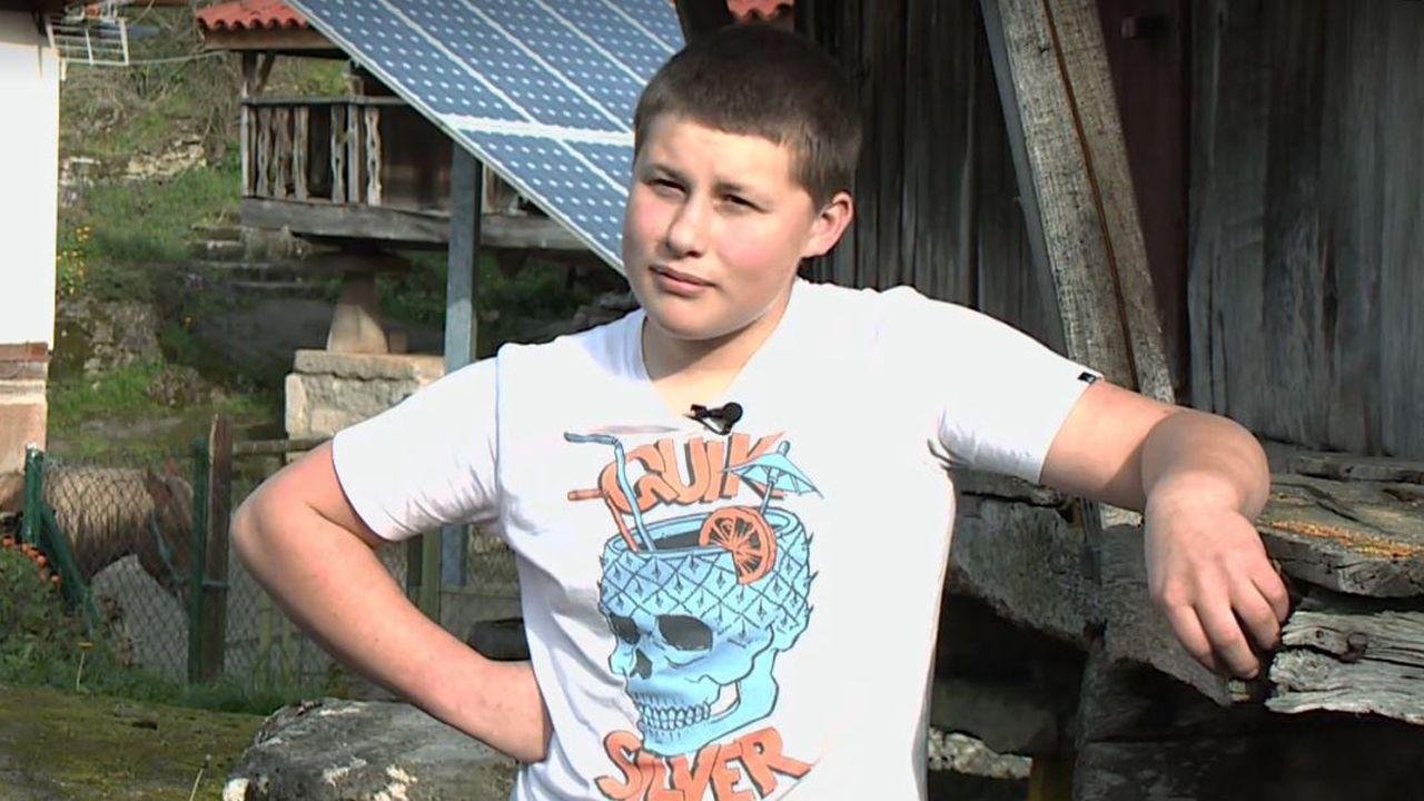 Adrián Beovides, el único niño de Yernes que dio mucho de que hablar en Twitter