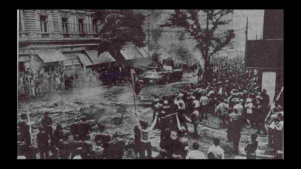 .Un dos acontecementos fundamentais do 68: a Primavera de Praga