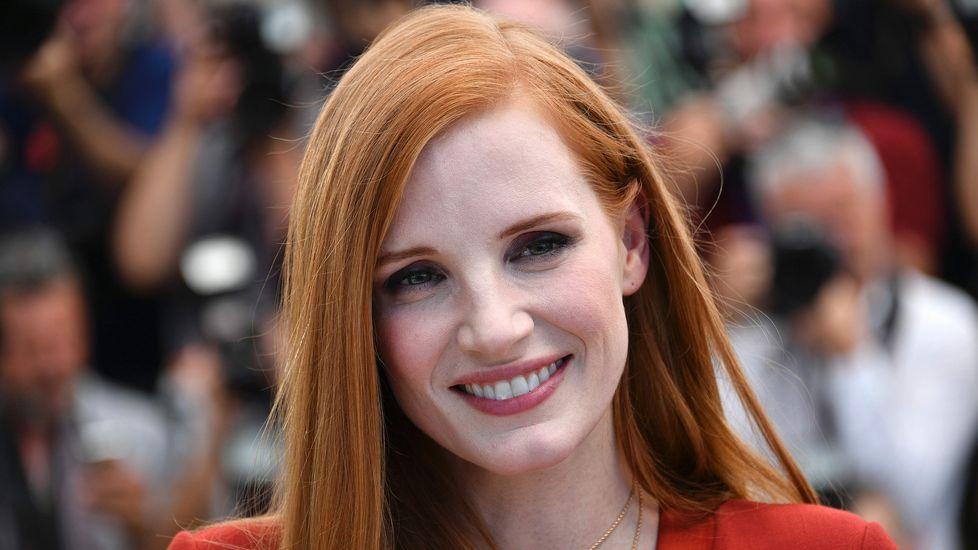.La actriz y miembro del jurado del festival Jessica Chastain