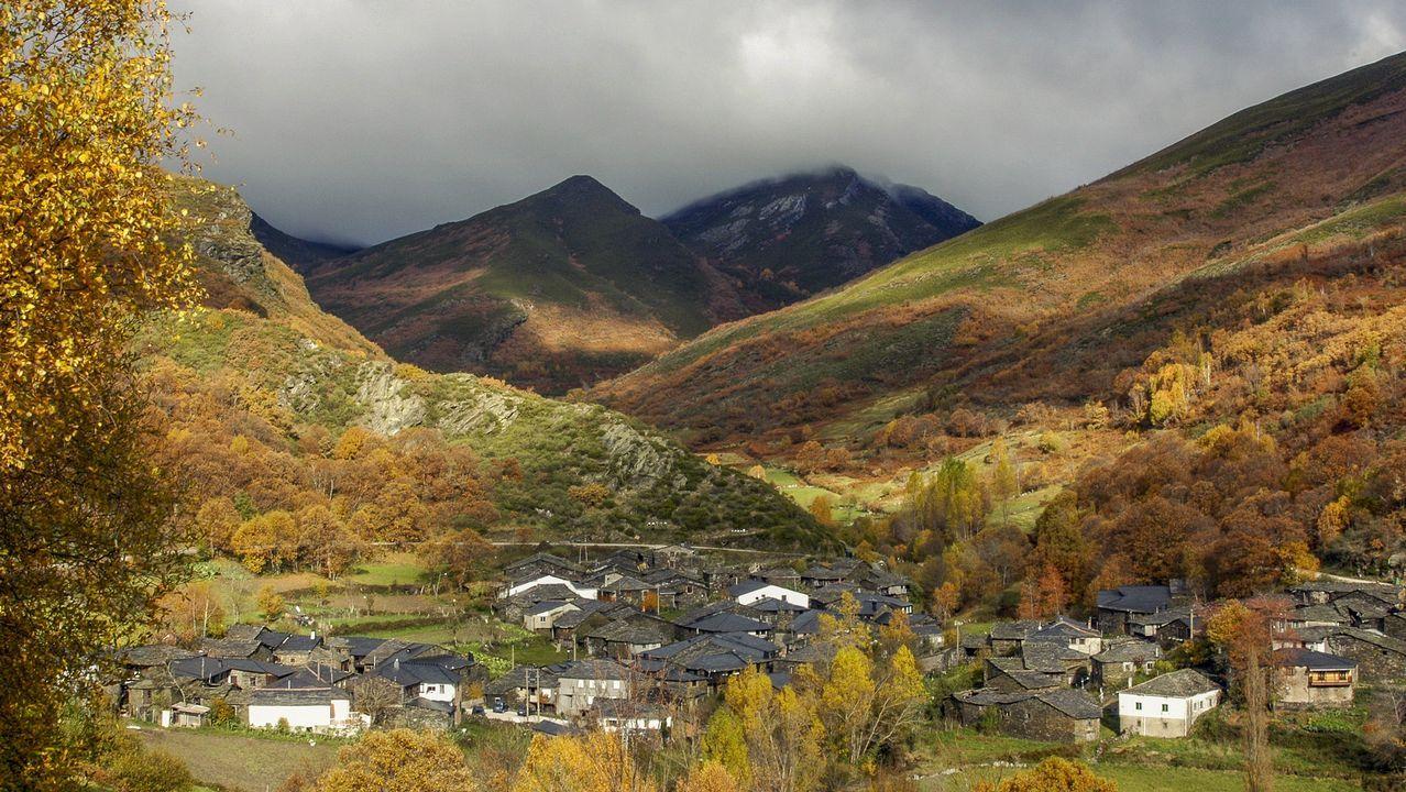 El atractivo de las Montañasde O Courel, el primer geoparque de la Unesco en Galicia.El meandro del Cabo do Mundo, entre Chantada y O Saviñao, estará incluido en una ruta geológica por el Miño