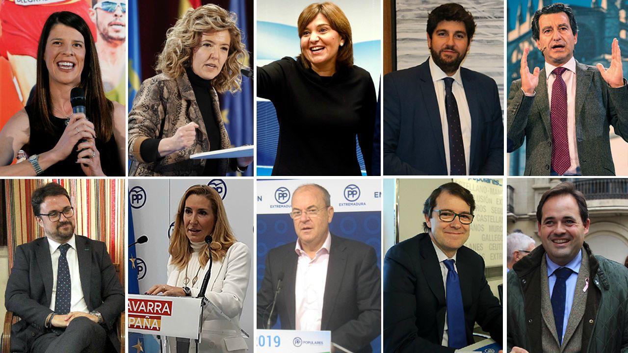 Candidatos autonómicos y municipales del PP