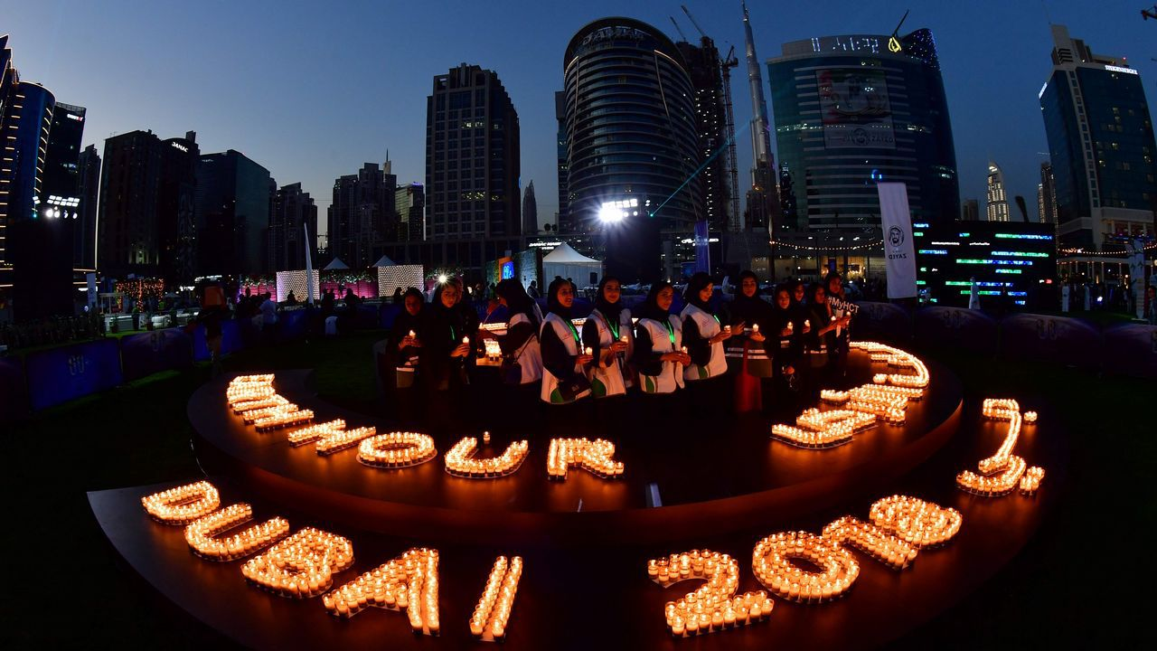 Conmemoración de la Hora del Planeta en Dubai