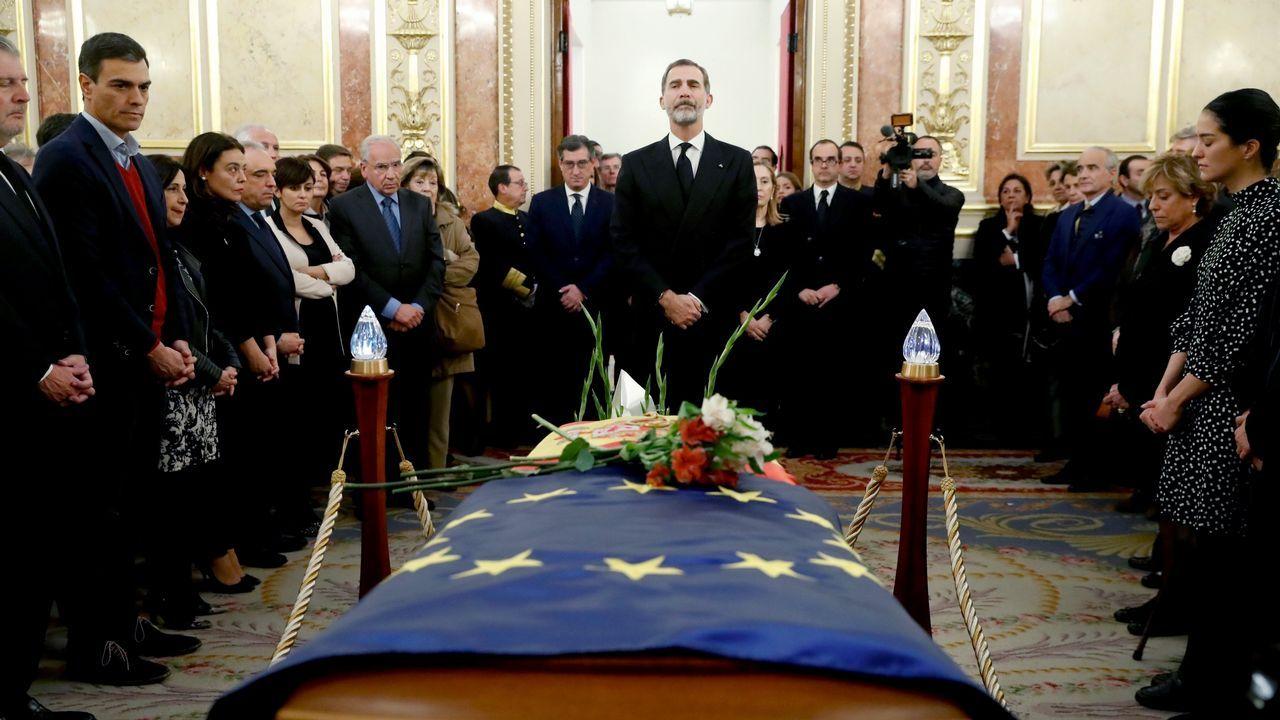 El Congresoda su último adiós a Manuel Marín