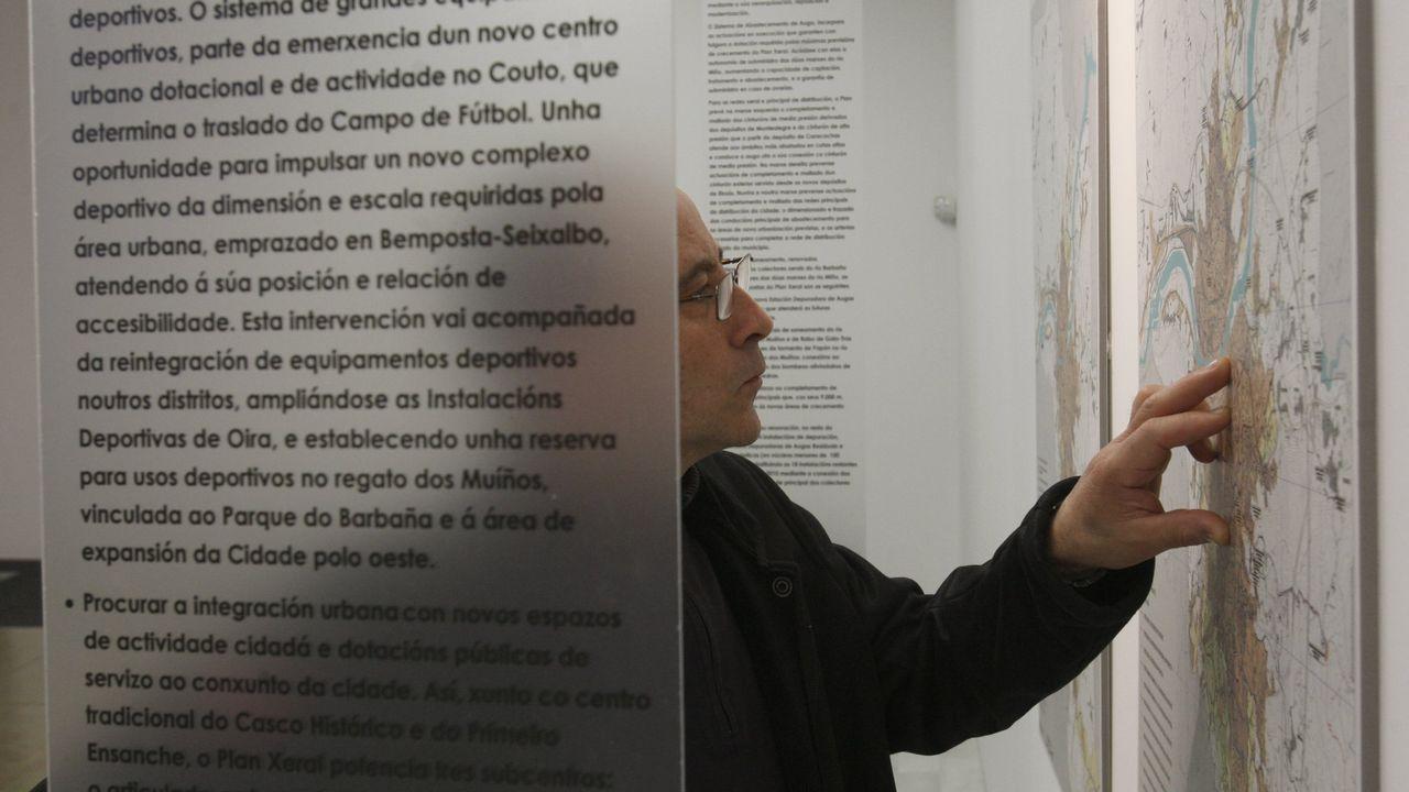 Calamidades urbanísticas en Padrón.Casco antiguo de Oviedo