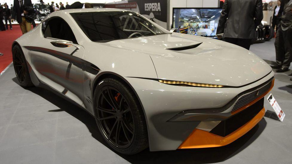El nuevo Sbarro Aria se expone en el Salón Internacional del Motor de Ginebra.