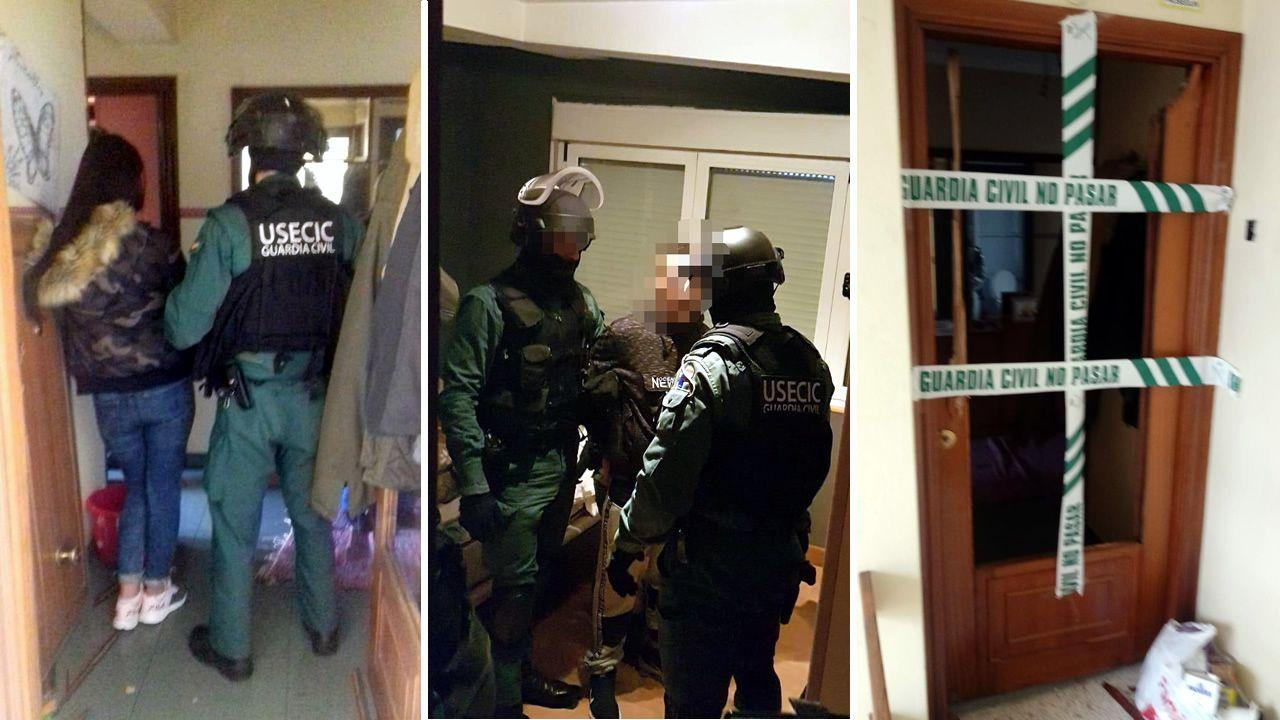Así fue la detención de Iván Añón.Tras ser detenido, Iván Añón fue trasladado entre grandes medidas de seguridad