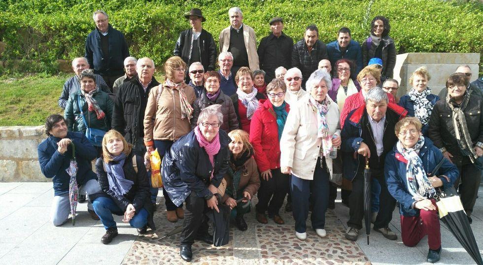 La Polifónica Trasdeza complementó el viaje con varias visitas, entre otras a Salamanca