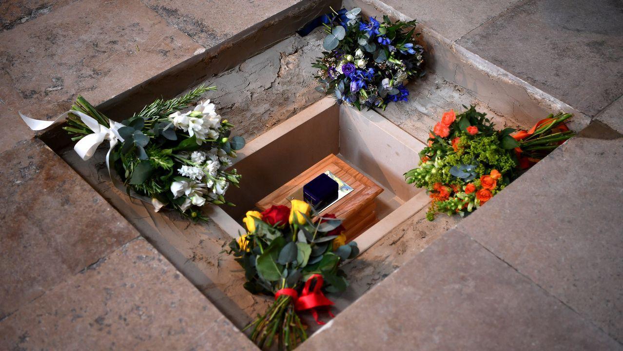 Funeral de Stephen Hawking en Londres