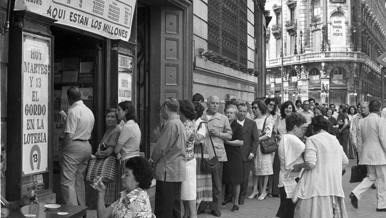 1978 | Precio de un décimp de la Lotería de Navidad: 2.000 pesetas (12 euros)