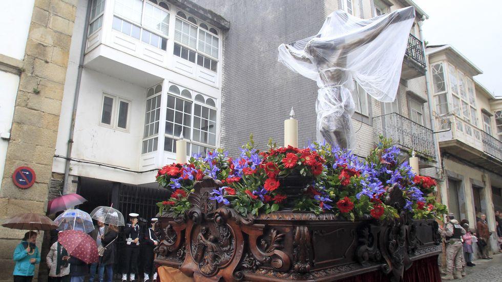 Miércoles Santo | Suspensión por la lluvia de la Procesión del Cristo de los Navegantes