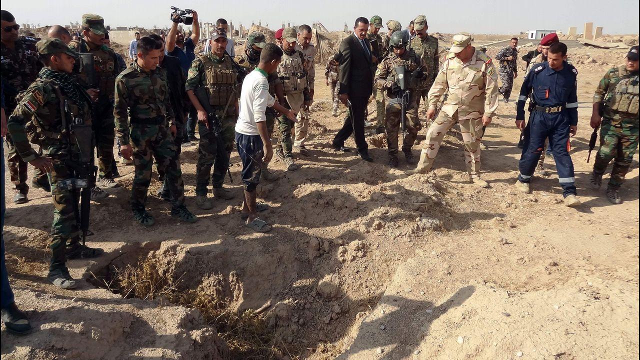 Fosas comundes halladas en Irak
