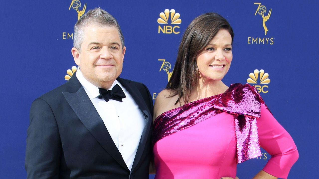 Emmy 2018: Patton Oswalt y Meredith Salenger