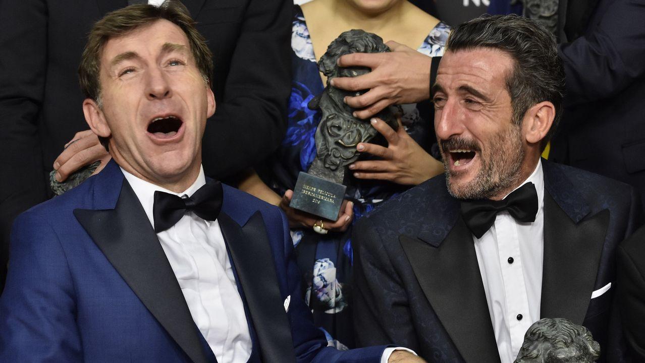 Antonio de la Torre, Goya al Mejor Actor, y Luis Zahera, Goya al mejor Actor de Reparto