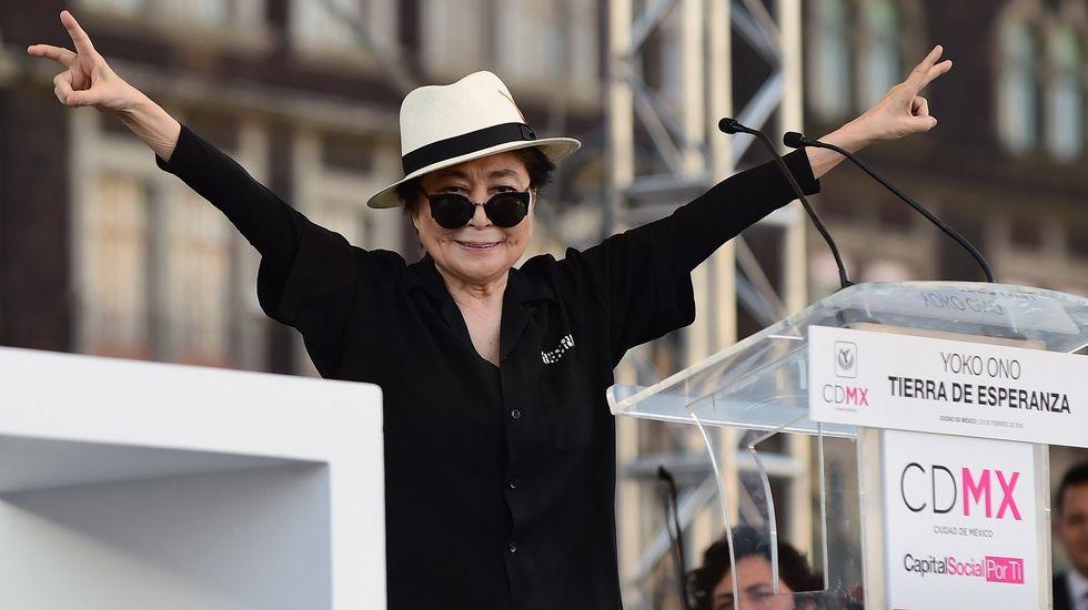 .Yoko Ono