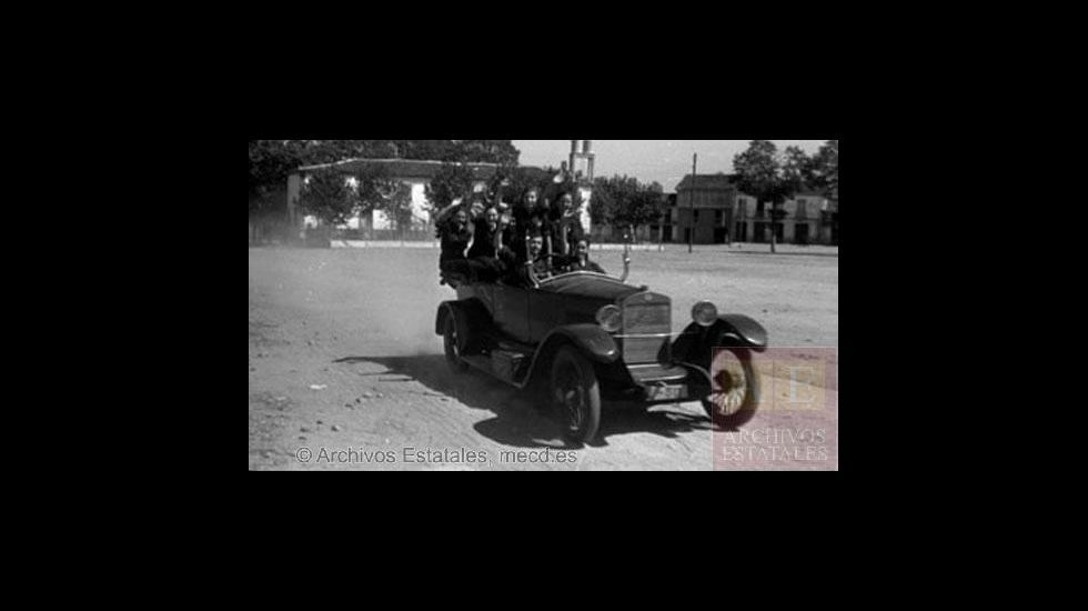 Fotografías tomadas en Monforte en 1936 por el alemán Erich Andres