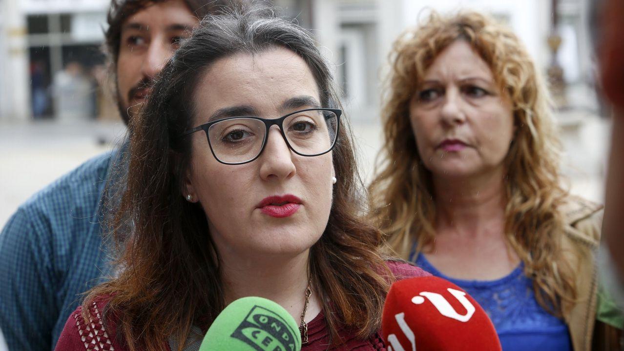 Los gallegos salen a la calle para reclamar mejores salarios y pensiones.Natalia Prieto, en una imagen de archivo