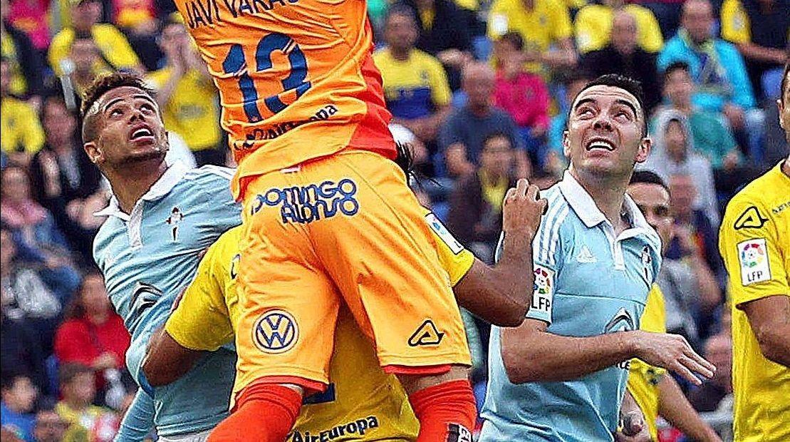 177 - Las Palmas-Celta (2-1) de Primera el 31 de enero del 2016