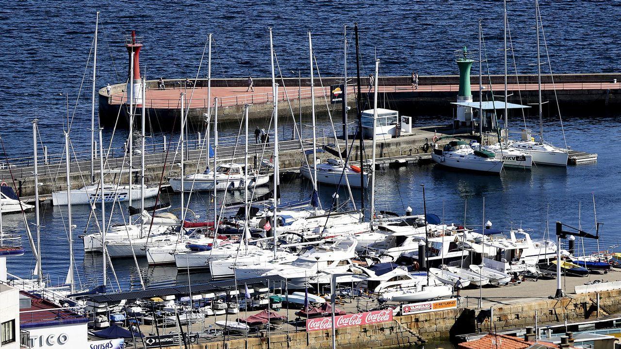 Los nuevos pedidos para la pesca.Instalaciones de Iberconsa en Teis (Vigo)