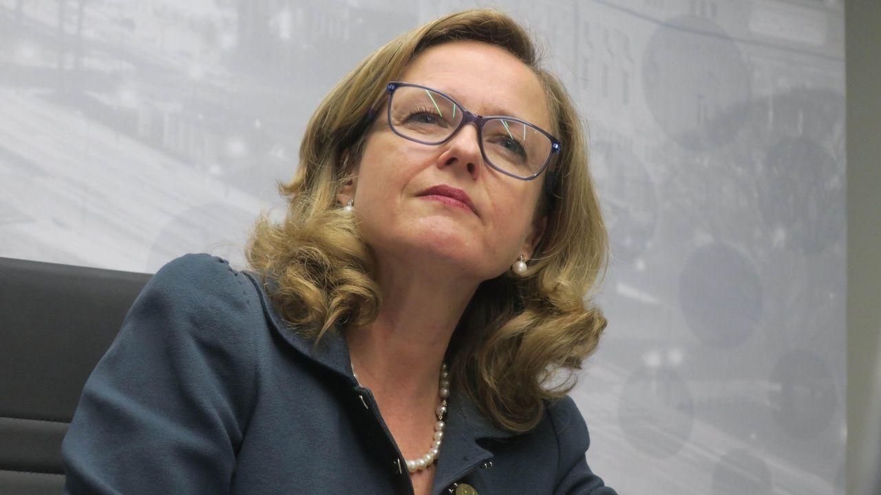 .La ministra de Economía, Nadia Calviño