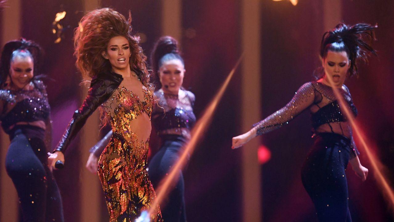 Eurovisión 2018: estos son losfinalistas.Alexander Rybak, el representante noruego, cantando «How you write a song»