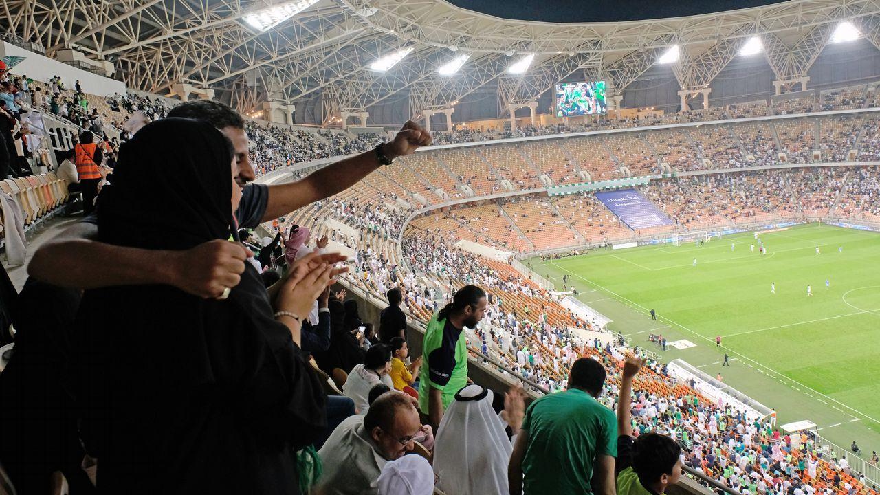 .MUjeres saudies en el fútbol