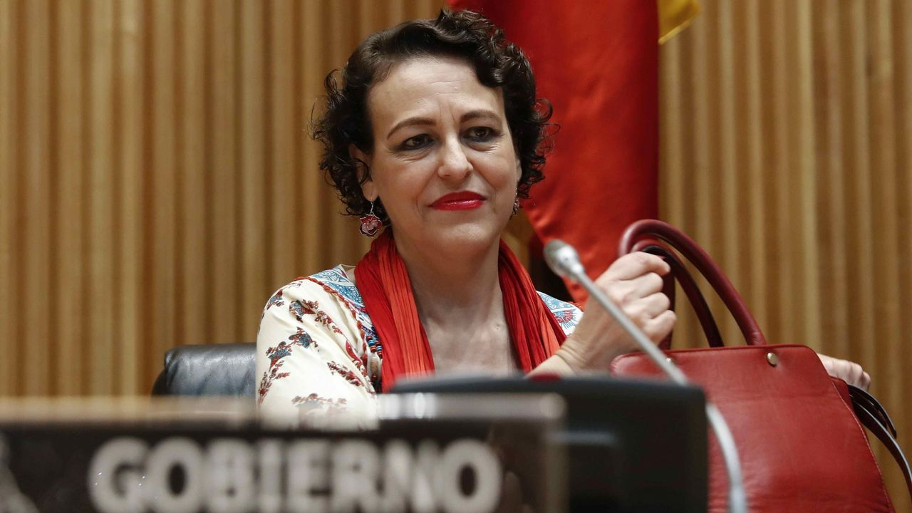 .Magdalena Valerio, ministra de Trabajo