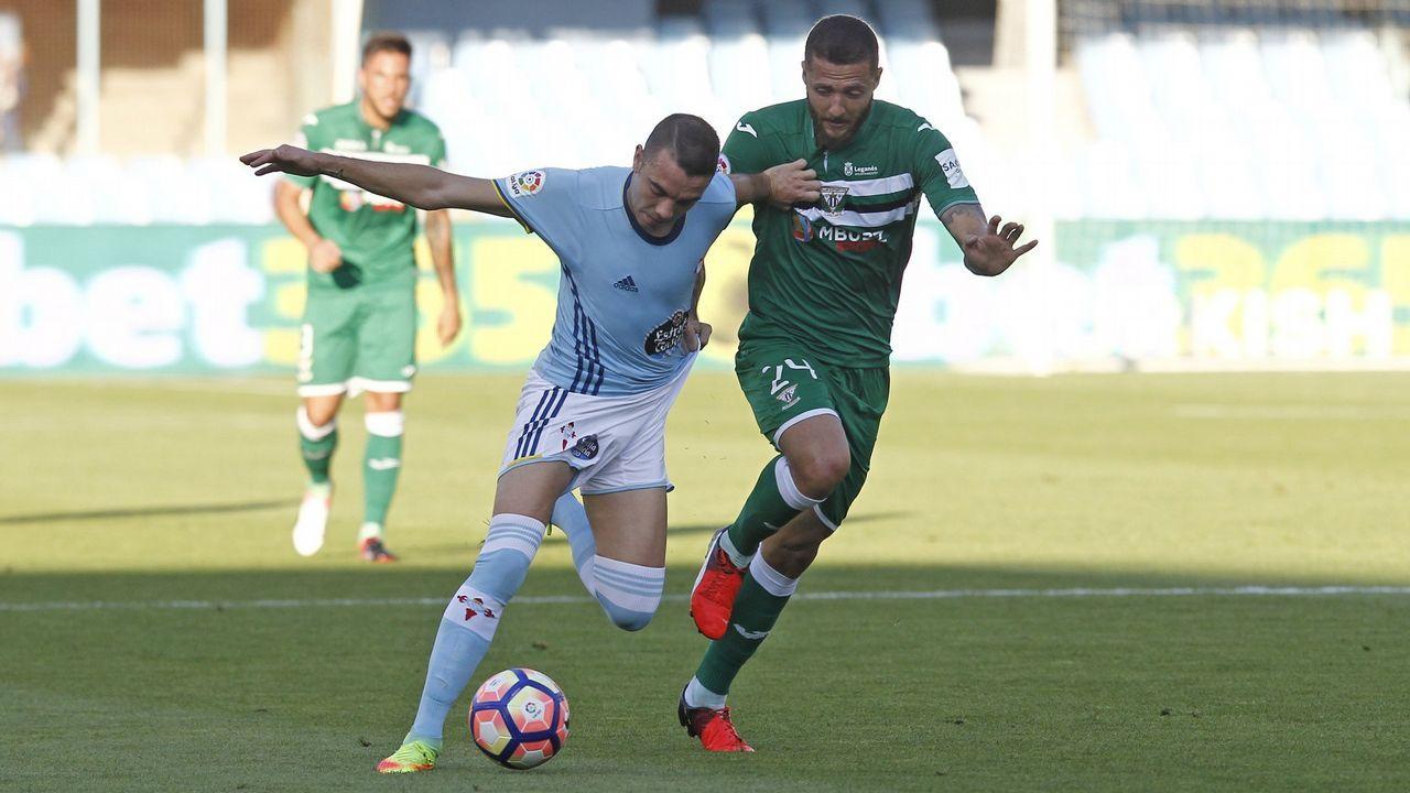 194 - Celta-Leganés (0-1) de Primera el 22 de agosto del 2016