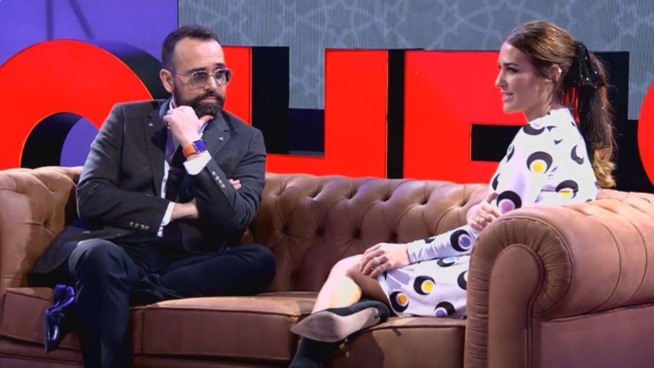 Paula Echevarría en el programa «Chester» de Risto Mejide