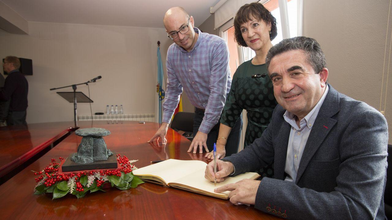 Las imágenes del homenaje a José Ramón Varela Rey por su jubilación