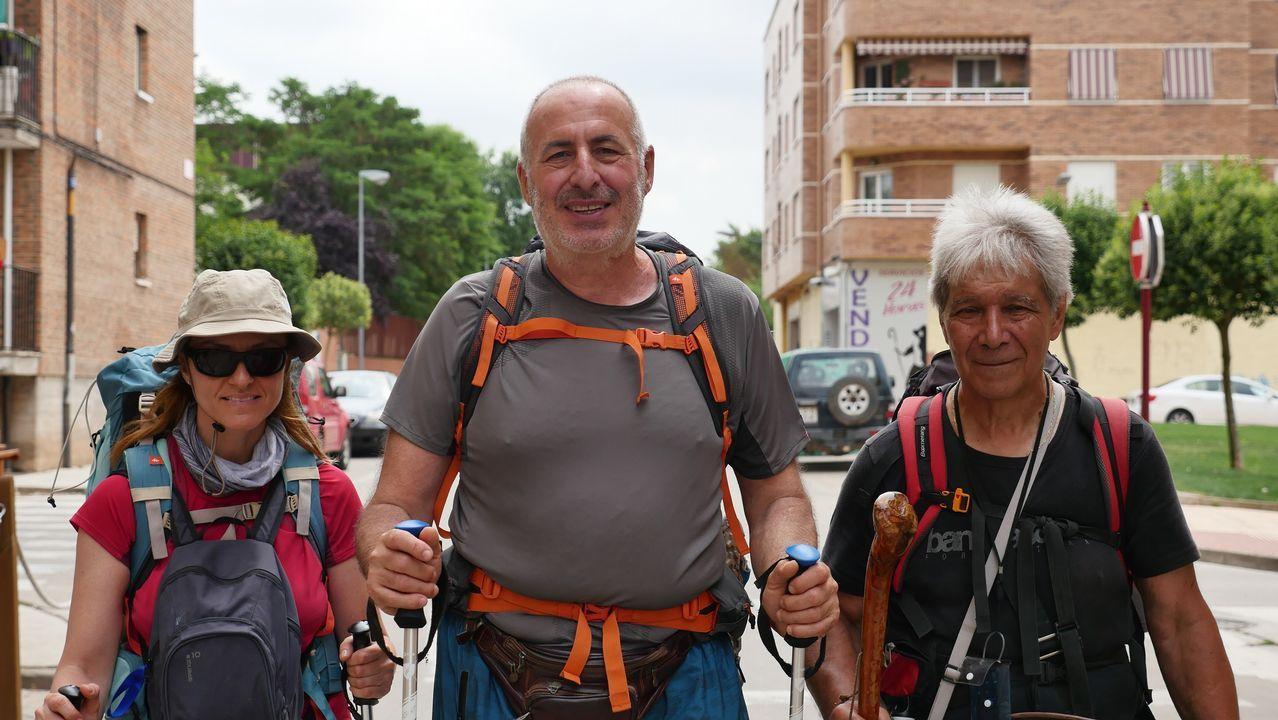 El Camino hace compañeros de viaje