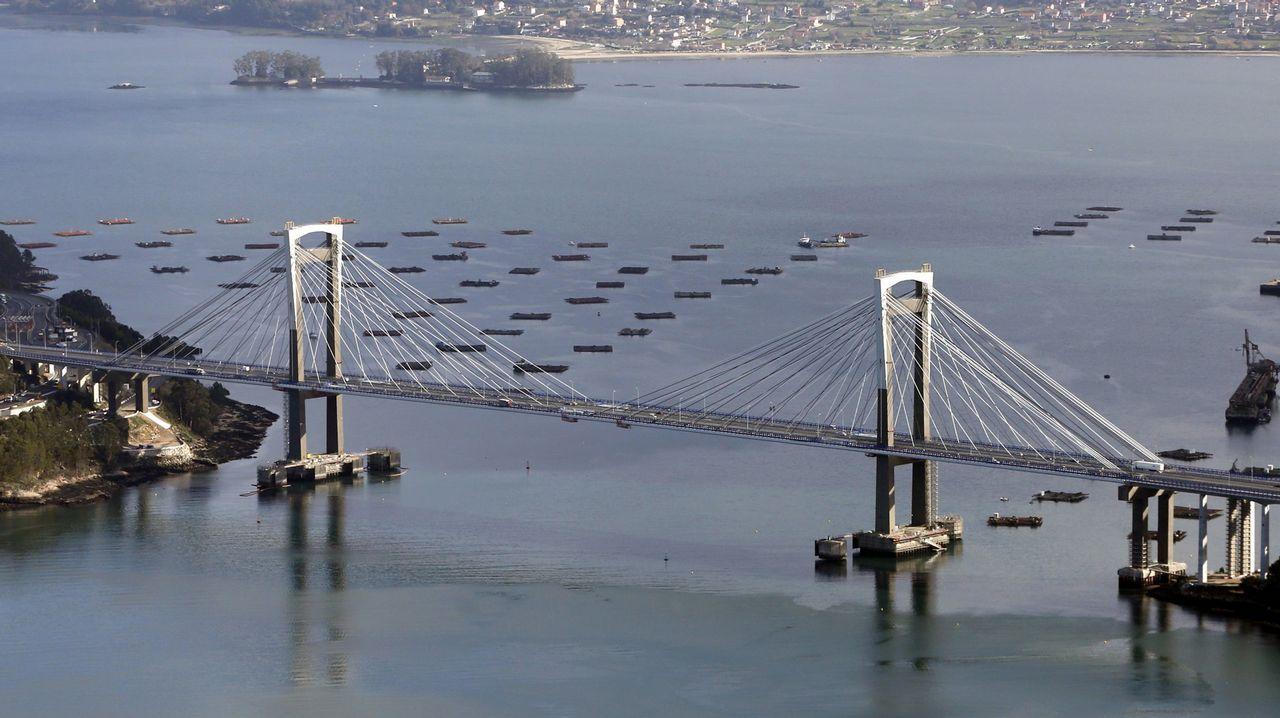La ampliación del puente de Rande es una las obras que se financiarán con el aumento de los peajes