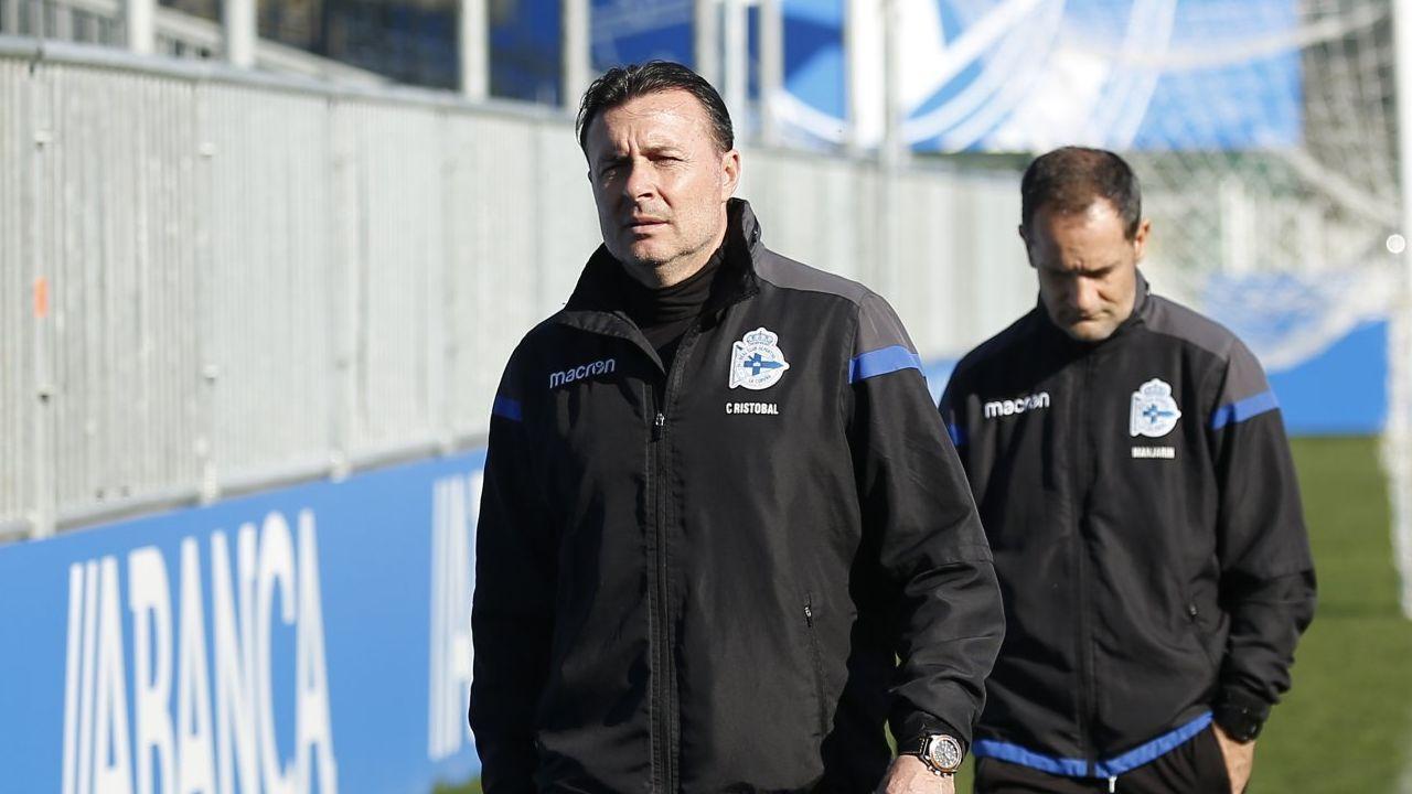 Las mejores imágenes del Oviedo - Deportivo