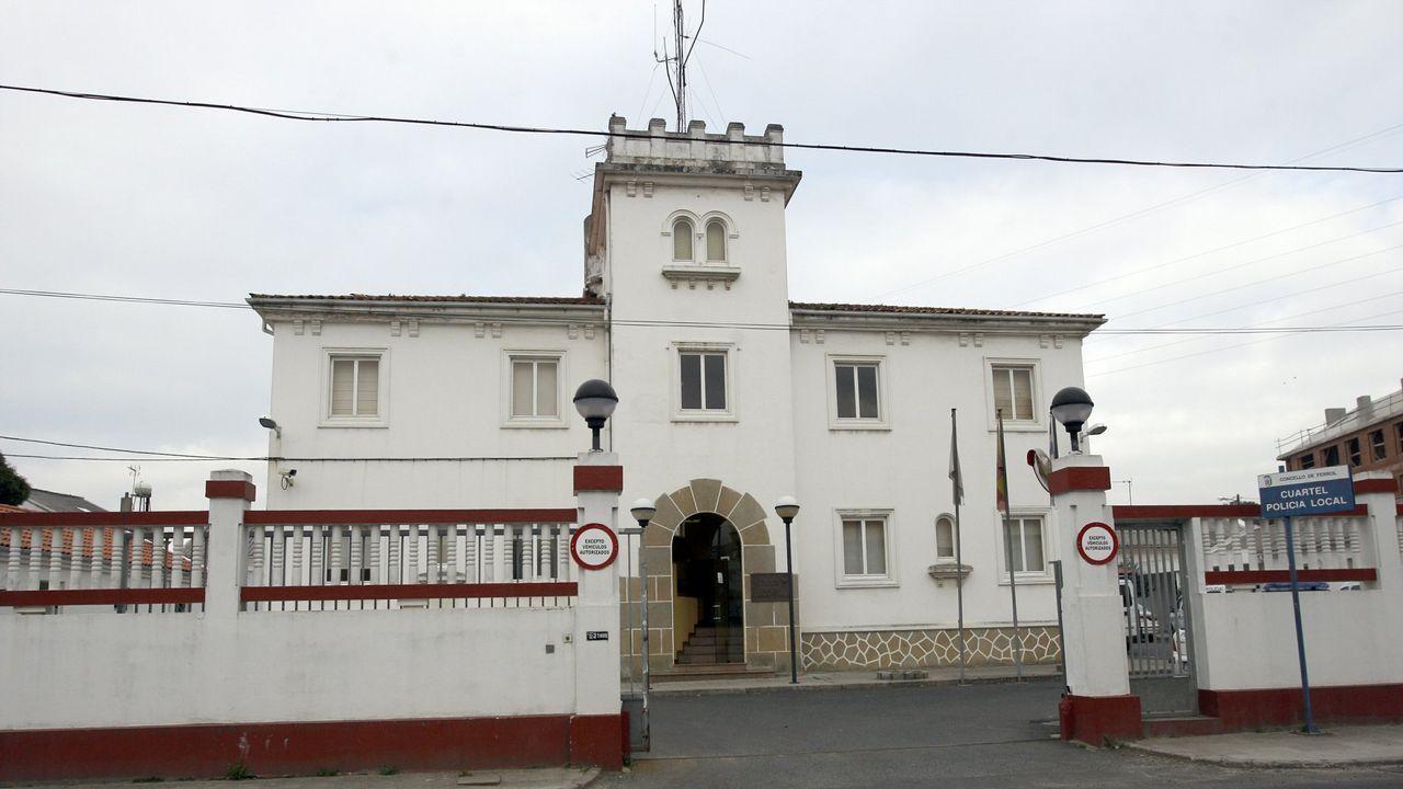 Encierro de los trabajadores de la zona azul de Vigo.Ayuntamiento de Llanes