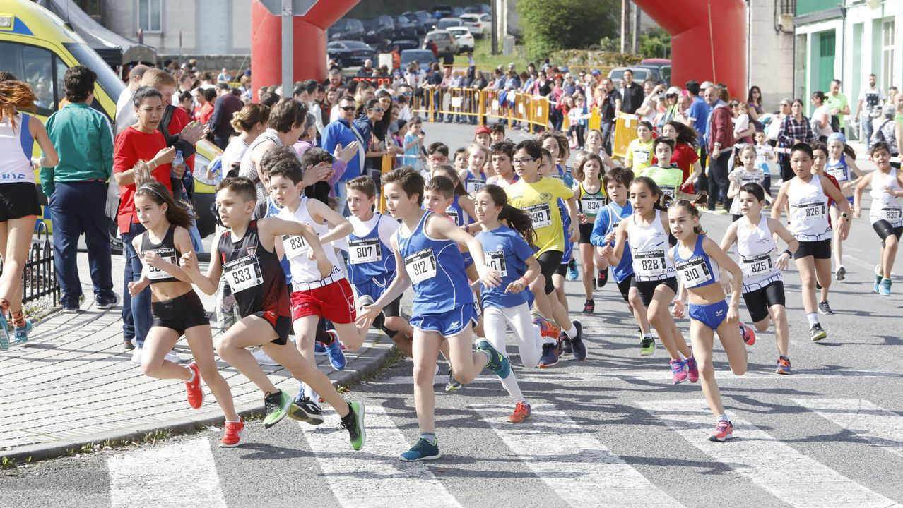 La carrera popular de Friol en imágenes