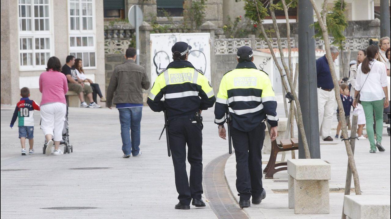 «Estamos cansados de él».Cuartel de la Guardia Civil de Belmonte