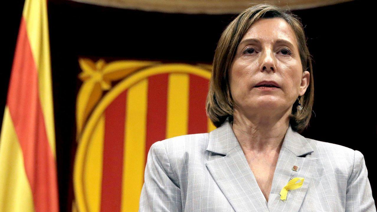 Forcadell acata las órdenes de Rajoy.Jordi Ballart, en una imagen institucional como alcalde